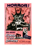 Night of the Demon, (AKA Curse of the Demon), 1957 Posters