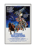 Battlestar Galactica, 1978 Print