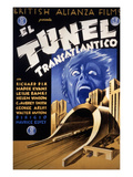 Transatlantic Tunnel (AKA the Tunnel), 1935 Posters