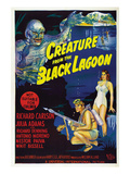 Creature From the Black Lagoon, Bottom From Left: Richard Carlson, Julie Adams, 1954 Photo