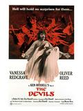 The Devils, Oliver Reed (Back), Vanessa Redgrave (Front), 1971 Photo