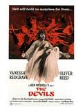 The Devils, Oliver Reed (Back), Vanessa Redgrave (Front), 1971 Photo