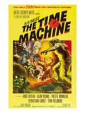 The Time Machine, Yvette Mimieux, Rod Taylor, 1960 Poster