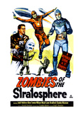 Zombies of the Stratosphere, 1952 Poster