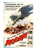 Rodan, 1957 Affiches