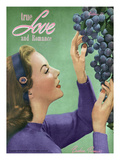 True Love and Romance Vintage Magazine - October 1947 - Kodachrome Art by Charles Kellaway