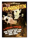 Frankenstein, Boris Karloff, 1931 Affiches