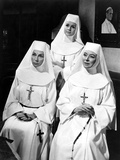 The Singing Nun, Agnes Moorehead, Debbie Reynolds, Greer Garson, 1966 Photo