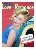 True Love and Romance Vintage Magazine - May 1941 - Marion Martin MGM Star Giclee Print by Sol Wechsler