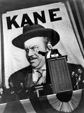 Citizen Kane, Orson Welles, 1941, Running For Governor Photo