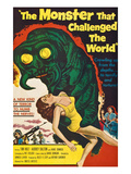 The Monster That Challenged the World, 1957 Reprodukcje
