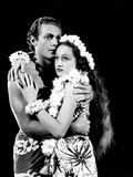 The Hurricane, Jon Hall, Dorothy Lamour, 1937 Photo