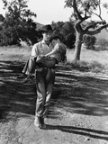 The Red Pony, Robert Mitchum, Carrying Peter Miles, 1949 Photo