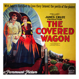 The Covered Wagon, J. Warren Kerrigan, Lois Wilson, 1923 Photo
