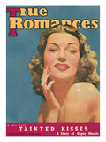 True Romances Vintage Magazine June 1940 Rita Hayworth of Columbia Pictures Giclee Print by  Macfadden