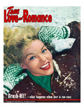 True Love Romance Stories Vintage Magazine - January 1949 - Kodachrome Prints by Charles Kellaway