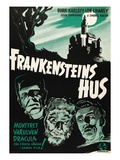 House of Frankenstein, (AKA Frankenstein&#39;s Hus), 1944 Prints