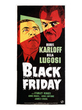 Black Friday, Bela Lugosi, Boris Karloff, 1940 Photo