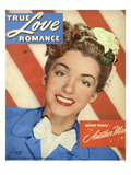 True Love & Romance Vintage Magazine - July 1946 Giclee Print