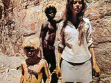 Walkabout, Lucien John, David Gulpilil, Jenny Agutter, 1971 Photo