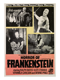 Horror of Frankenstein, Ralph Bates, (Doctor), David Prowse, (Monster), 1970 Photo