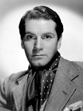 Laurence Olivier, Portrait, with Ascot Posters