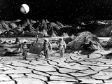 Destination Moon, Astronauts Explore The Lunar Terrain, 1950 Photo