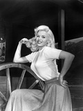 The Wayward Bus, Jayne Mansfield, 1957 Photo