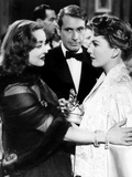 All About Eve, Bette Davis, Gary Merrill, Anne Baxter, 1950, Confrontation Photo