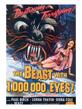 The Beast With A Million Eyes, 1955 Billeder