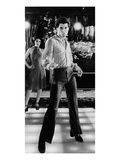 Saturday Night Fever, Fran Drescher, John Travolta, 1977 Fotografía