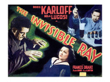 The Invisible Ray, Boris Karloff, Frances Drake, Bela Lugosi, 1936 Photo