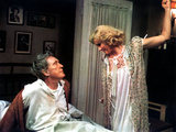 The Day Of The Locust, Burgess Meredith, Karen Black, 1975 Photo