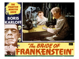 Bride of Frankenstein, Colin Clive, Ernest Thesiger, 1935 Poster