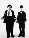 Laurel and Hardy, ca. 1930s Print