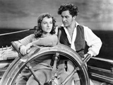Reap The Wild Wind, Paulette Goddard, Ray Milland, 1942 Póster
