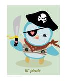 Lil Pirate Premium Giclee Print by Natasha Wescoat
