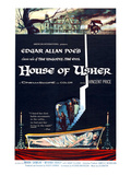 House of Usher, (AKA the Fall of the House of Usher), 1960 Print