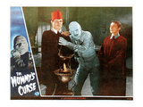 The Mummy's Curse, From Left: Peter Coe, Lon Chaney, Jr., 1944 Photo