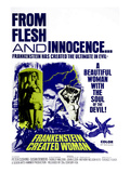 Frankenstein Created Woman, Peter Cushing, Susan Denberg, 1967 Prints