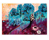 Blue Willow Premium Giclee Print by Natasha Wescoat