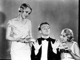 Blonde Crazy, Noel Francis, James Cagney, Joan Blondell, 1931 Photo