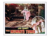 The Mummy's Tomb, Elyse Knox, Lon Chaney Jr., 1942 Photo