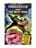 Frankenstein Meets the Wolf Man, 1943 Poster