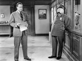 The Bank Dick, Grady Sutton, W.C.Fields, 1940 Photo
