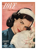 True Love and Romance Vintage Magazine - February 1948 - Kodachrome Giclee Print by Rio Reamy Studios