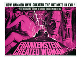 Frankenstein Created Woman, Peter Cushing, Susan Denberg, 1967 Photo