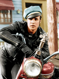 The Wild One, Marlon Brando, 1954 Photo