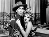 Destry Rides Again, James Stewart, Marlene Dietrich, 1939 Photo