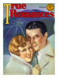 True Romances Vintage Magazine -- March 1931 Cover Posters by Jules Cannert